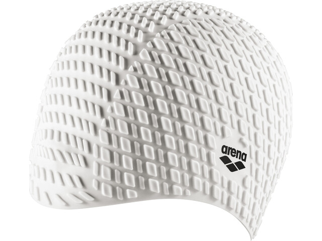 arena Bonnet Silicone Gorro de natación, white